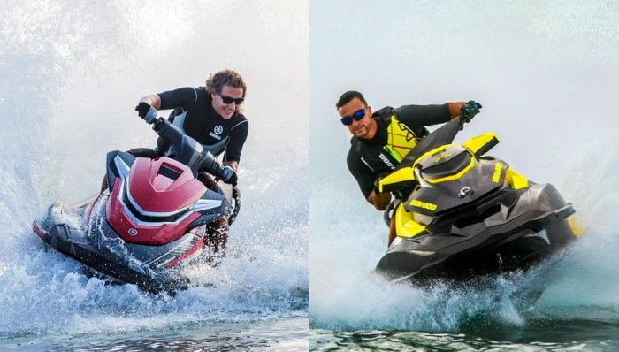 WHAT'S THE DIFFERENCE BETWEEN A SEA-DOO AND A WAVERUNNER?